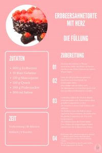 Erdbeersahnetorte Rezept