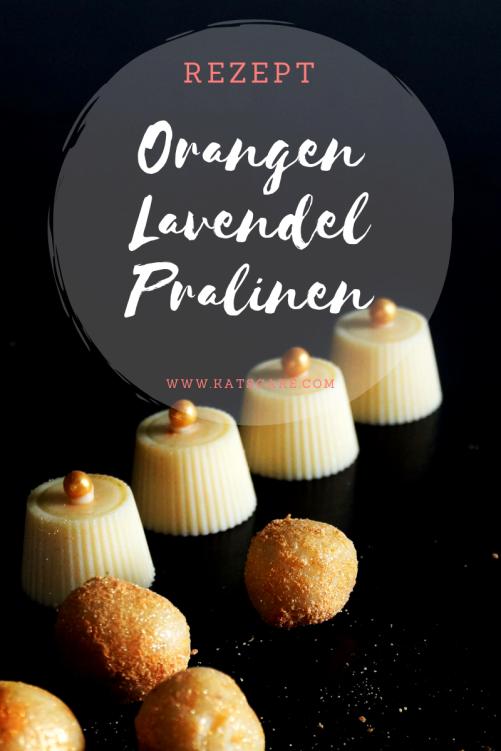 Orangen LavendelPralinen
